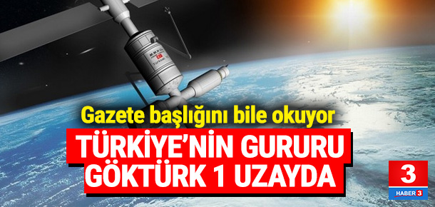 Göktürk 1 uzaya fırlatıldı