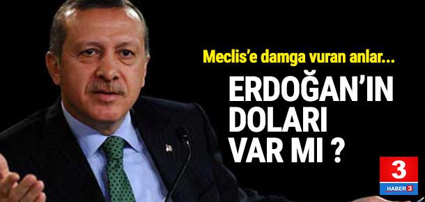Erdoğan bankadaki dövizini bozdurdu