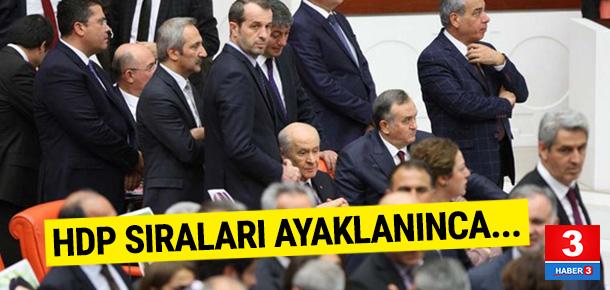 Meclis'te Bahçeli'ye etten duvar