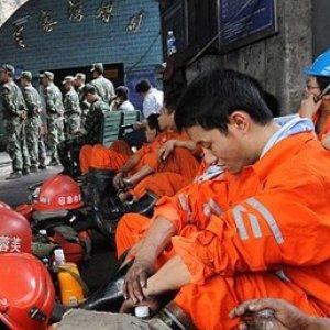 Çin'de maden faciası !