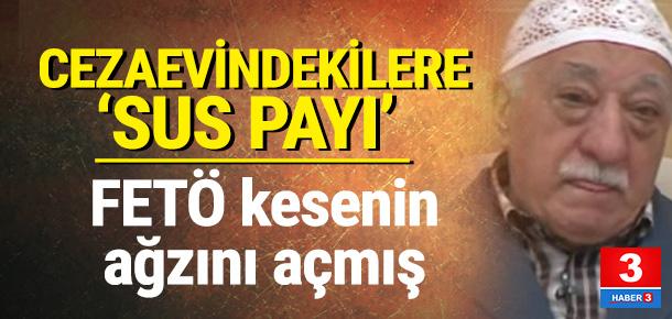 FETÖ'den cezaevindeki örgüt üyelerine para yardımı