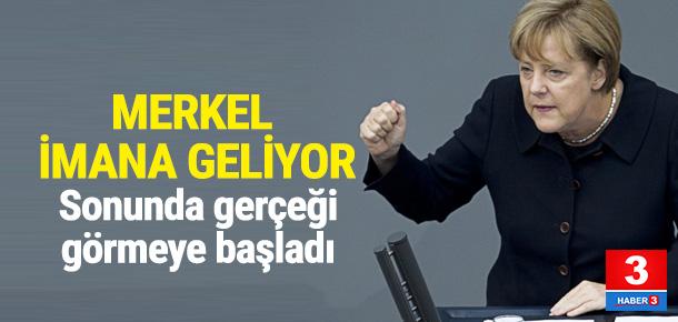 Merkel Türkiye'nin önemini anlamaya başladı