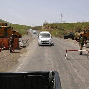 Tunceli'de kontrol noktasına saldırı girişimi