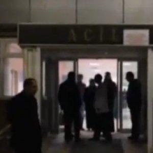 Devlet hastanesinde silahlı saldırı