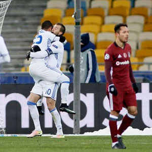 Beşiktaş Kiev'de dağıldı: 6-0