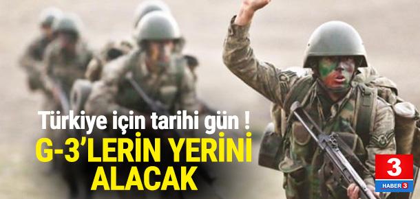 Mehmetçiğe milli tüfek ! G-3'ün yerine geliyor