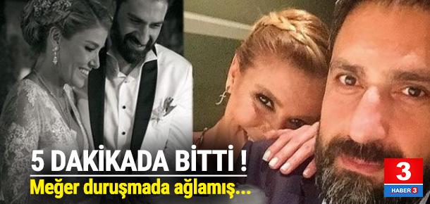 Gülben Ergen'in gözyaşları...