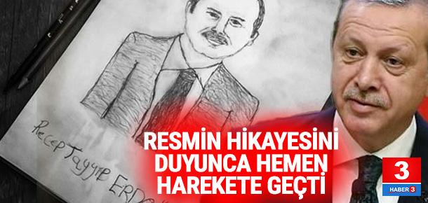 Erdoğan o resmi görünce hemen harekete geçti