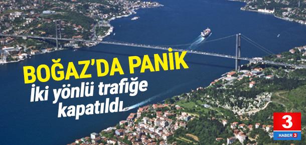 İstanbul Boğazı'nda yürekler ağza geldi