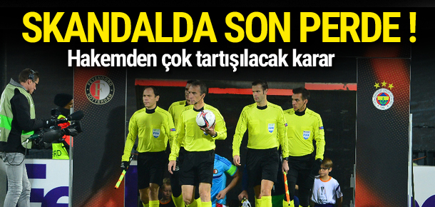 Hakem Fenerbahçe'nin penaltısını vermedi