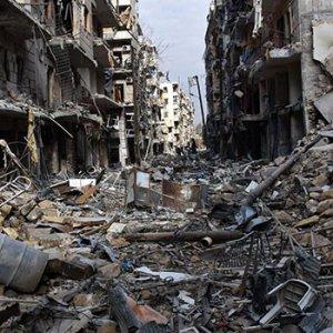 Halep bombalanmaya devam ediyor