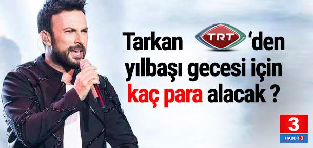 Tarkan yılbaşında TRT ekranında