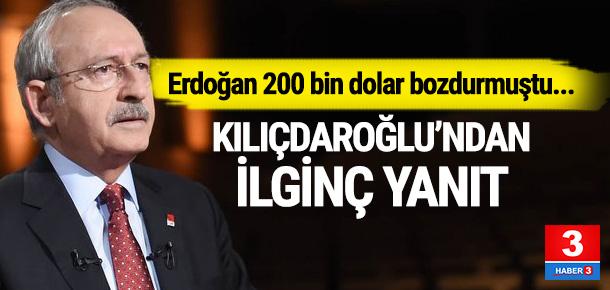 Kılıçdaroğlu: ''Hiçbir zaman dolar hesabım olmadı''