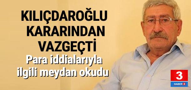 Kılıçdaroğlu ölüm orucuna son verdi