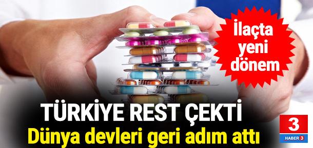 Türkiye dünya devlerini böyle dize getirdi