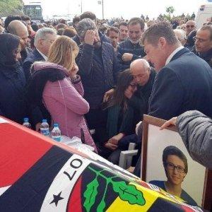 Terör kurbanı Berkay Akbaş'a veda...