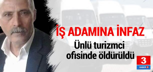 Ankaralı iş adamına ofisinde infaz