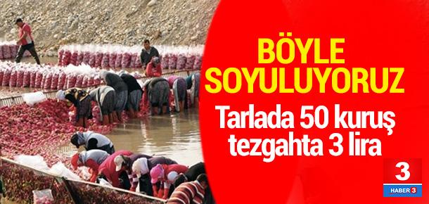 Osmaniye'de 50 kuruş, İstanbul'da 3 lira