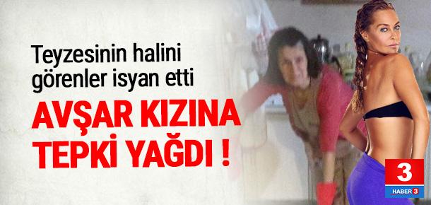 Hülya Avşar'ın teyzesinin evini su bastı