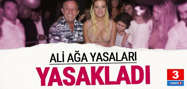 Ali Ağaoğlu'ndan Petek Ertüre'ye yasak