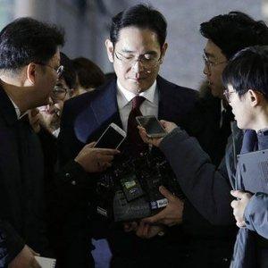Samsung'u sarsan tutuklama