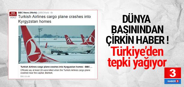 Türkiye'den dünya basınına THY tepkisi