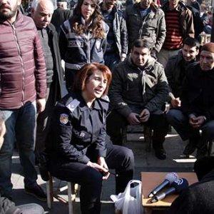 Sur'un güvenliği kadın müdüre emniyet