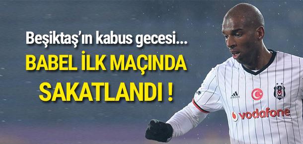 Beşiktaş'ta Babel ve Gökhan şoku