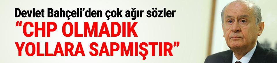 Bahçeli'den CHP'ye çok sert sözler !