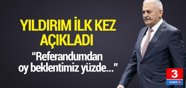 Başbakan Yıldırım: Fire beklemiyoruz