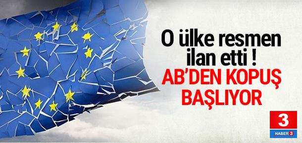 İngiltere'den Avrupa Birliği açıklaması