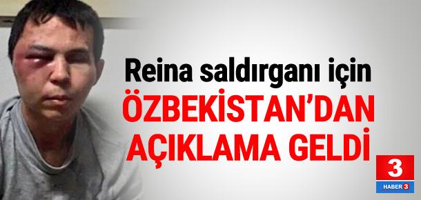 Özbekistanlı yetkiliden Reina saldırganı açıklaması