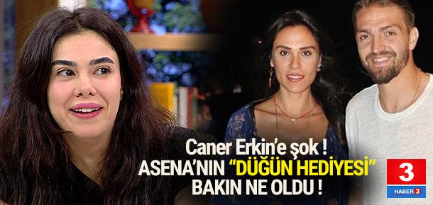 Asena Atalay'dan Caner Erkin'e şok !