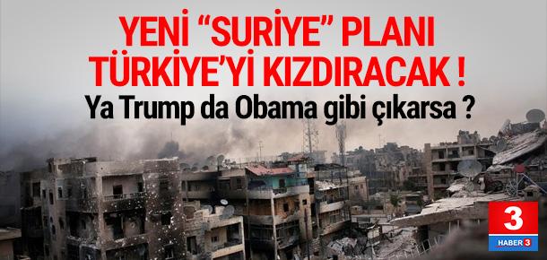 Pentagon'dan Türkiye'yi kızdıracak ''Suriye'' planı