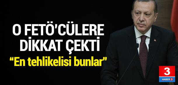 Erdoğan'dan yüksek yargıya FETÖ uyarısı