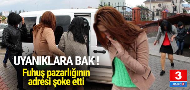 AVM otoparkında fuhuş skandalı