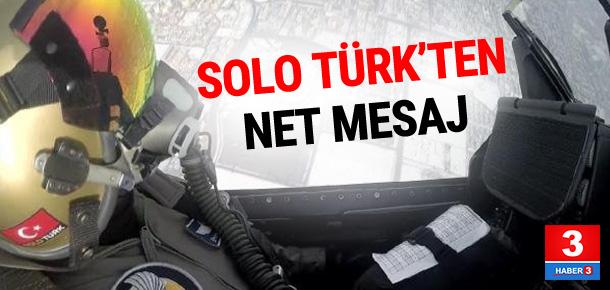 Solo Türk klibinde dikkat çeken mesaj