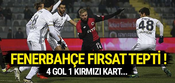 Gençlerbirliği 2 - 2 Fenerbahçe / Maç sona erdi