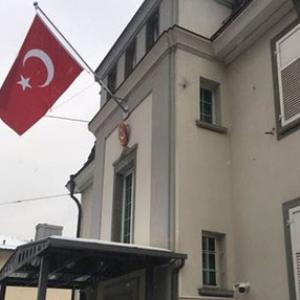 Türkiye'nin Zürih Başkonsolosluğu'na alçak saldırı