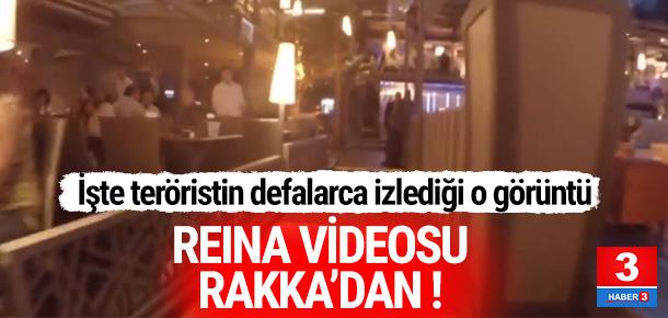 Reina saldırganına bu videoyu göndermişler !