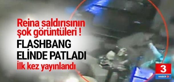 Reina saldırısının ilk kez yayınlanan görüntüleri