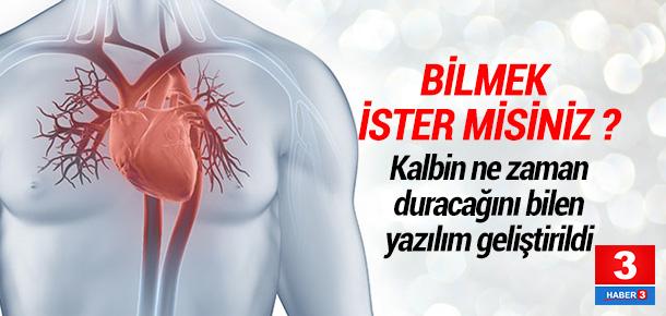 Kalp krizinde erken uyarı sistemi