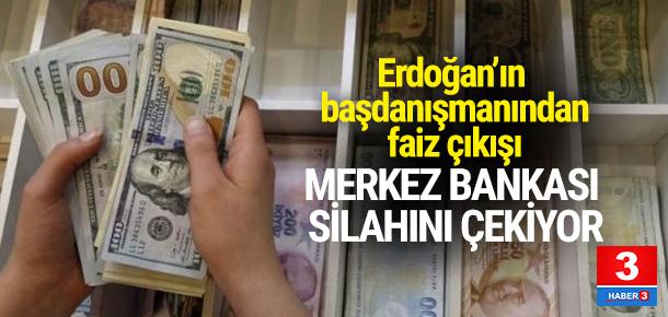Erdoğan'ın başdanışmanından faiz çıkışı
