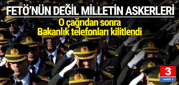 Emekli subaylar o çağrıdan sonra telefona sarıldı
