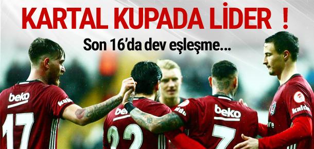Beşiktaş 3 golle turladı !