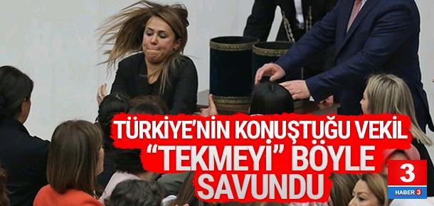 Türkiye'nin konuştuğu vekil Meclis'teki kavgayı anlattı