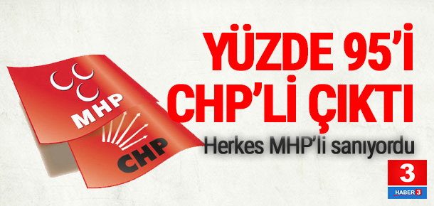 ''Gelen 100 mesajdan 95'i CHP'lilerden''