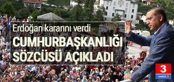 Erdoğan meydanlara iniyor