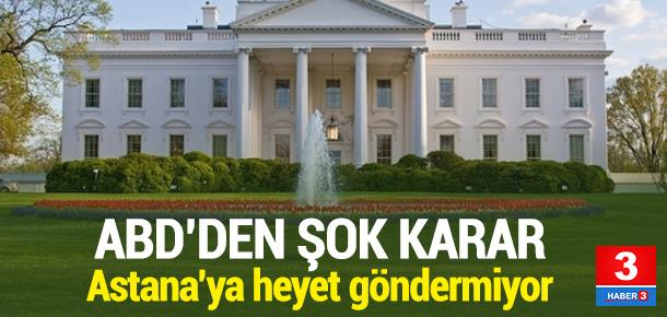 ABD'yi Astana'da temsil edecek isim belli oldu