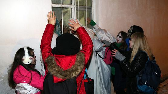 Balkan geleneği 'Bocuk Gecesi' Keşan'da yaşatılıyor